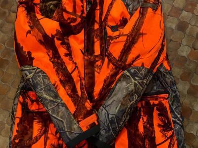 veste de chasse percussion