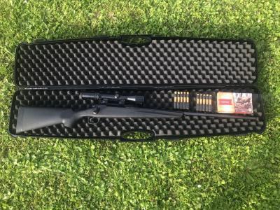 Pack carabine REMINGTON 783 cal 7RM et lunette SCHMIDT et BENDER mixte